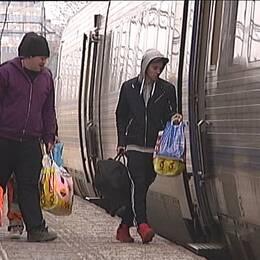 Tågpassagerare