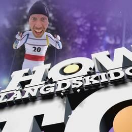 Mattias Svahn lär dig åka längdskidor inför Lilla Sportspegeln LIVE