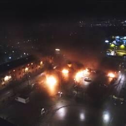 Upplopp i Rinkeby – polisen sköt varningsskott