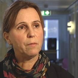 Porträttbild på Corinne Pedroletti, verksamhetschef på SU