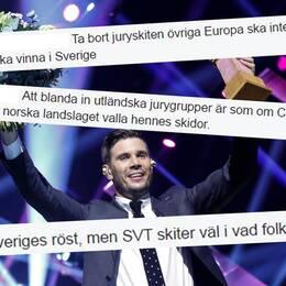 """""""Är man rädd att svenskarna ska tycka fel?"""""""