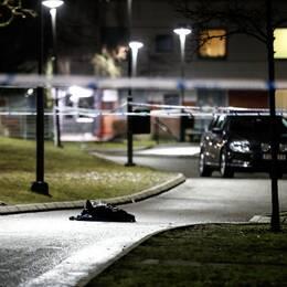 En knivskars till döds på Hässleholmen i Borås. Två andra knivskars svårt. (22 mars 2017)