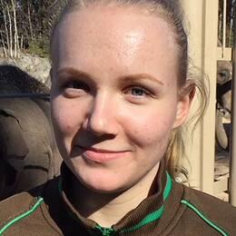 Malin Gustafsson, djurskötare Kolmården Norrköping Öst Namsai