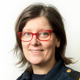 Polisens presstalesperson Towe Hägg.