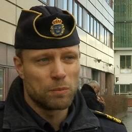 Emil Andersson, lokalområdespolischefi Sollentuna.