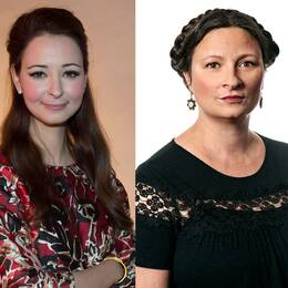 Alice Teodorescu, politisk redaktör på GP, Sanna Rayman, debattchef på Dagens Samhälle och Tove Lifvendahl, politisk chefredaktör på SvD.