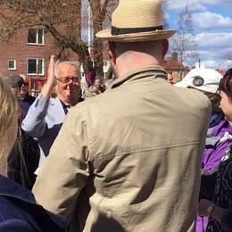 Över 400 personer kom till Kristinaskolans återträff