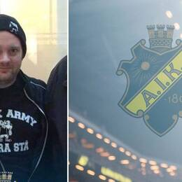 Petter Lindahl är ordförande i AIK:s supporterklubb Black Army.