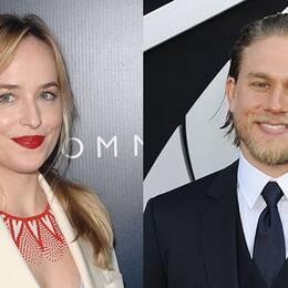 Dakota Johnson och Charlie Hunnam