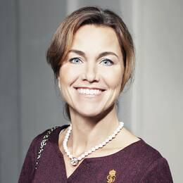 Kungahusets informationschef Margareta Thorgren.
