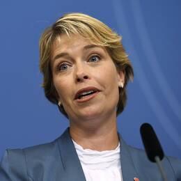 Annika Strandhäll (S) ny socialminister.