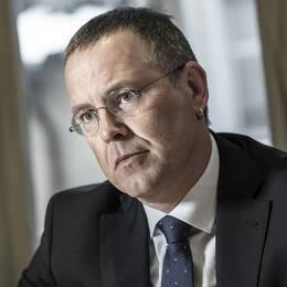 Moderatledaren Anna Kinberg Batra och förre finansministern Anders Borg.