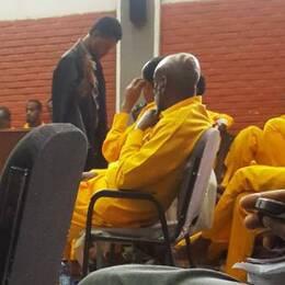 Vittnen och åtalade i rättegången mot Fikru Maru