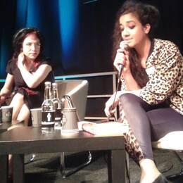 Sofi Oksanen möter Athena Farroukhzad