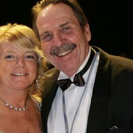 Med sin fru på Idrottsgalan 2007.