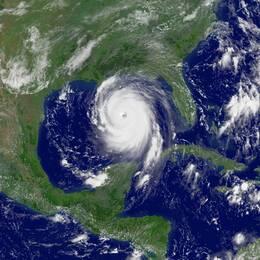 Orkanen som fick namnet Katrina