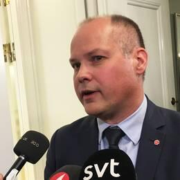 Justitie- och inrikesminister Morgan Johansson (S)