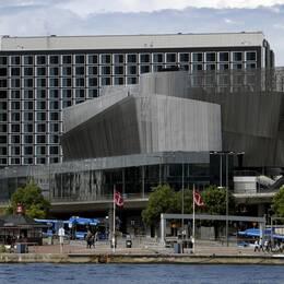 Waterfront building i Stockholm