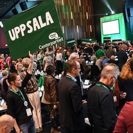 Centerpartiet håller partistämma i Malmö.