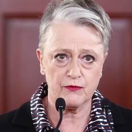 Berit Reiss-Andersen, ordförande i Nobelkommitén.