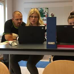 Martin Tesell är ansvarig för digitaliseringen av skolan.