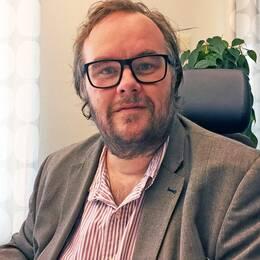 Nils Karlsson (MP) känner en oro för att han normaliserar hoten.