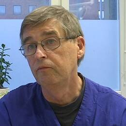 Överläkaren Gunnar Eckerdal.