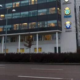 Arkivbild på polishuset.