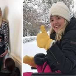 Anna Holmlund står på sina ben igen. Ett år efter olyckan.