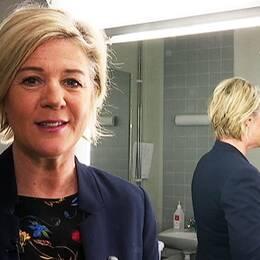 Programledare Gunilla Wikström