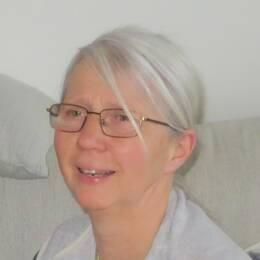 porträtt en medelålders kvinna