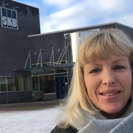 Jenny Rees är kommunikatör på SKB kring ansökan om tillståndet om slutförvaret av kärnavfall – en ansökan som nu har granskats i sju år.