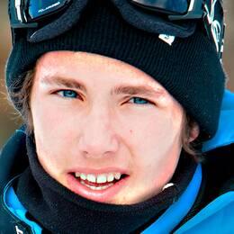Snowboardstjärnan Sven Thorgren.