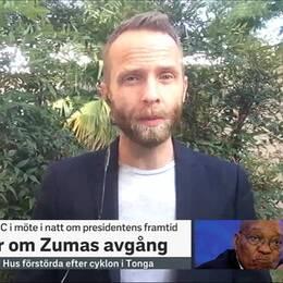 SVT:s Afrikakorrespondent Johan Ripås