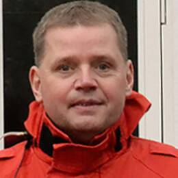 Magnus Lindahl är räddningschef i Nybro kommun.
