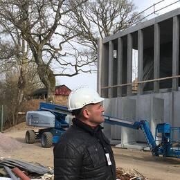 """Jens Malmhagen, driftschef, hoppas att spaanläggningen ska bli en ny """"magnet"""" på konferensmarknaden."""