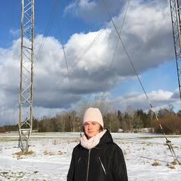 Liksom hundratals andra markägare vill Anna Gideson inte upplåta sin mark till en luftburen kraftledning.