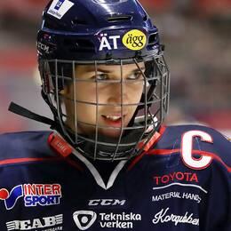 Linköpings Denise Altmann under en SDHL-match mot HV71.