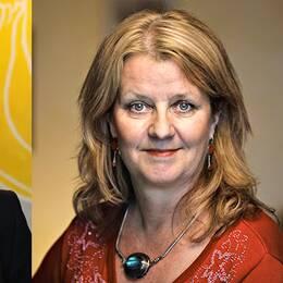 Ulrika Facht, medieanalytiker för Nordicom och Annika Hellström, producent & aktivist på Dorisfilm.
