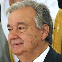 FN:s generalsekreterare António Guterres
