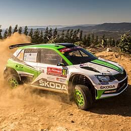 Pontus Tidemand i Rally Portugal