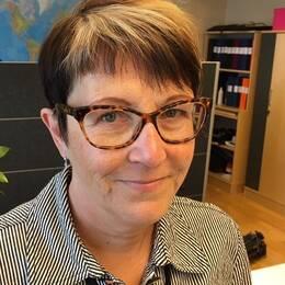 Cecilia Borgh, enhetschef på Migrationsverket i Kramfors.