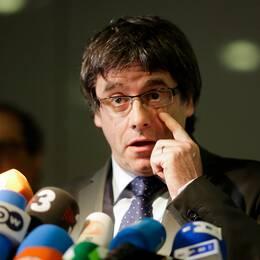 Ex-regionspresidenten Carles Puigdemont
