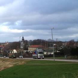 Det pågår en strid om ekomat i Laholm.