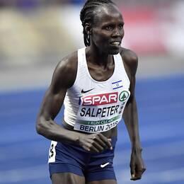 Lonah Chemtai Salpeter trodde hon tagit EM-silver.