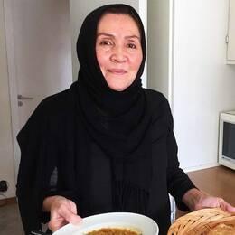 Saira Husseini har bott i Sverige i 13 år och är utbildad kock men har ännu inte fått något jobb