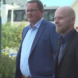 Johan Söderlin, Sjöbopartiet och André af Geijerstam, Sverigedemokraterna.