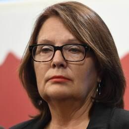 Lotta Johnsson Fornarve är Vänsterpartiets kandidat till posten som andre vice talman.