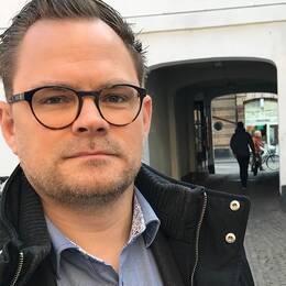 Olof Esbjörnsson, chefsredaktör på tidskriften Opus.
