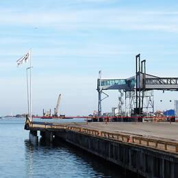 Oskarshamns hamn.